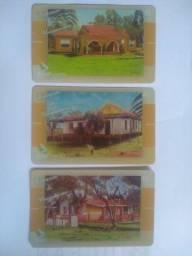 Cartões telefônicos da Brasil Telecon