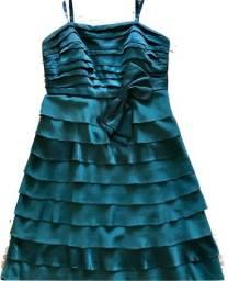 Vestido festas (alças reguláveis) TAM40-42