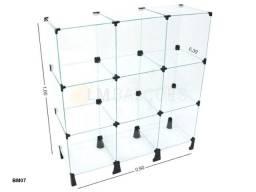 Balcão de vidro - 0,90 x 1,00 x 0,30 - Material de Qualidade