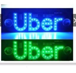 Placa Uber