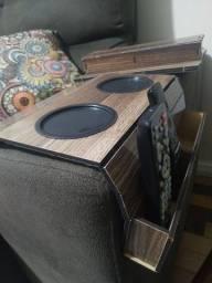 Kit 2 Esteiras para sofá com porta controle