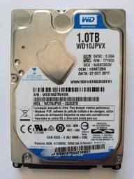 HD Western Digital 1tb Wd10jpvx
