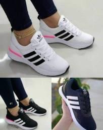 Tênis Adidas em promoção, outros na loja online Instagram @top.tenis.rr