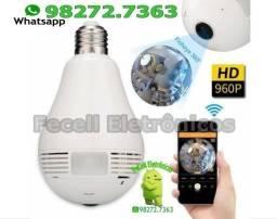 Lâmpada Espiã Ip LED 360º WIFI
