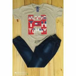Kit calça e camisa