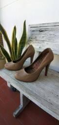 Sapato nude salto TAM 37