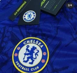 Título do anúncio: Camisa Chelsea azul 19/20