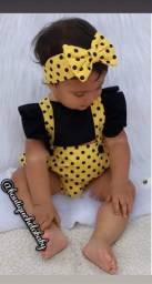 Jardineira Baby variadas