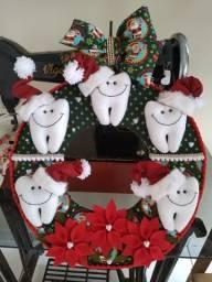 Guirlanda Natalina para dentista