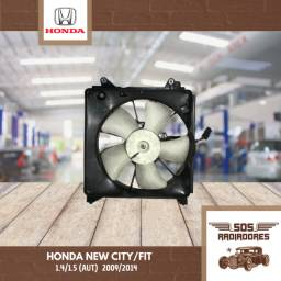 Eletroventilador Ventoinha Honda City/Fit 2009/2014