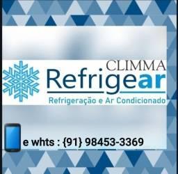 Limpeza e manutenção de ar condicionado Split
