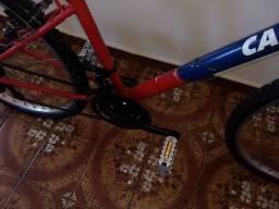 Bicicleta aro 24 Caloi  18 marchas