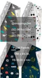 Venha logo comprar papel parede adesivo para decorar quarto do seu filho ou filha