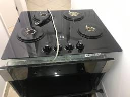 Cook Top + Forno Electrolux 4 bocas usado ótimo estado