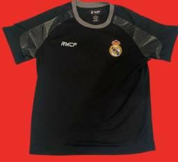 Camisa linda Real  Madrid   nova etiqueta comprada nos Estados Unidos