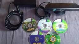 Kinect+2 Jogos Originais Xbox 360, Fonte, Headset