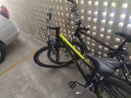 Bicicleta Caloi, com Nota fiscal e pouco uso