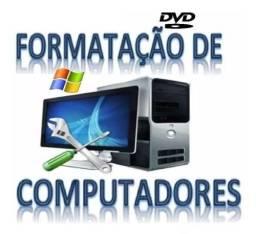 Formatação de Computadores R$50 reais