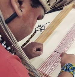 Cocar Indígena Natural Artesanato Arte Original, Parcelado