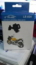 Suporte universal de celular para motos