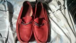 Sapatos masculino em couro