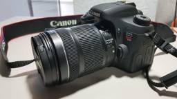 Câmera Profissional Canon T6s Lente 18-135