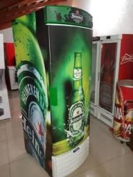 Linda cervejeira p 8cx metal frio entrega grátis em Rio ganha um brinde