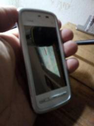 Nokia 5233 Xpress Music single chip. Só pega Vivo. Não roda WhatsApp
