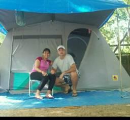 Cabana para acampar