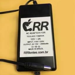 Usado, Fonte Cmc Pa5 P/ Teclado Yamaha 12v 2a Ac 110/220v Dc12v 2a comprar usado  São Paulo
