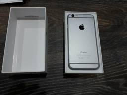 IPhone 6 16GB 4G Cinza Espacial na Caixa Zerado