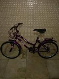 Bicicleta Gilmex Lilás $200