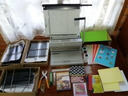Máquina de Encadernação e Cartonagem e acessórios