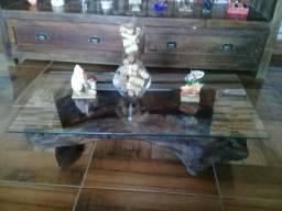 Mesa de centro artesanal