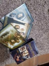 Dvd's a trilogia do Senhor dos Anéis