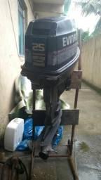 Motor de Popa Evenrude 25hp