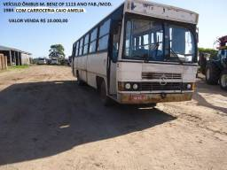 Ônibus M. Bens OF 1113 ano fab./mod 1984 - 1984