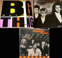 3 LPs Duran Duran