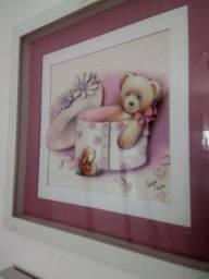 Quadros arte francesa urso