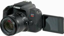 Canon T7i com lente 18-55 stm