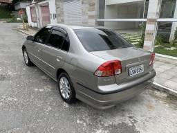 Honda Civic Automático com GNV novo !! - 2004