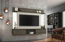 Painel Suspenso para Tv Até 55 Pol 2 Portas e Espelho- Faça seu Pedido *