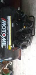 Compressor de Ar Profissional 15 Pés 3,0HP 175 Litros Monofásico Bivolt