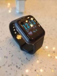 Relógio inteligente y68 compatível com Android e iOS