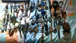 Lote de relógios de pulso antigo