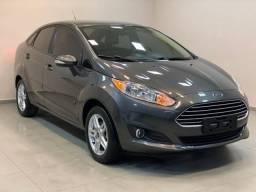 Fiesta sedan sel automático 1.6 2017 c/17.000km. léo careta veículos