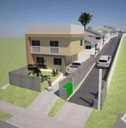 Casas em condomínio 02 quartos com garagem para dois carros. Bairro Abranches