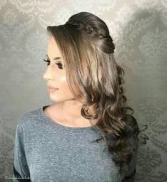 Maquiagem penteado