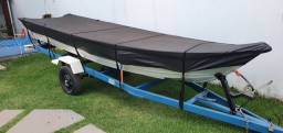 Barco Squalus 500 + carreta