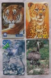 Vendo coleção de cartões telefônicos
